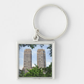 The Majestic Towers- Central Park West Keychain