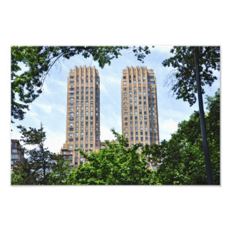 The Majestic Towers- Central Park West Photo Art