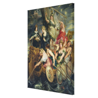 The Majority of Louis XIII Canvas Print