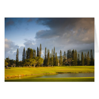 The Makai golf course in Princeville 2 Card