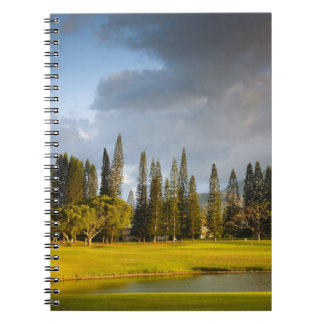 The Makai golf course in Princeville 2 Notebook