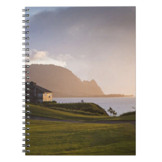 The Makai golf course in Princeville 3 Spiral Notebook
