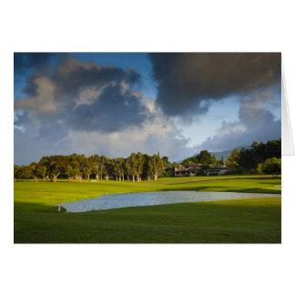 The Makai golf course in Princeville 4 Card
