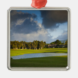 The Makai golf course in Princeville 4 Christmas Ornament