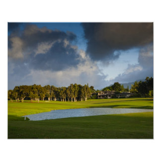 The Makai golf course in Princeville 4 Poster