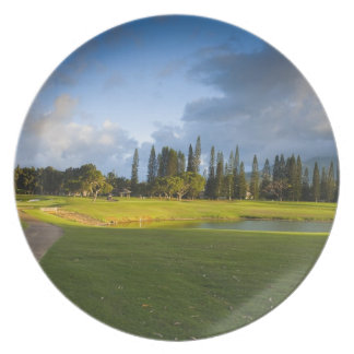 The Makai golf course in Princeville Plate