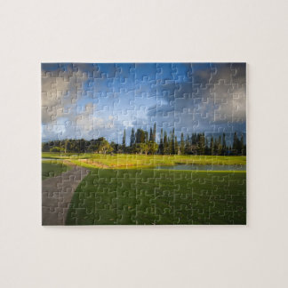 The Makai golf course in Princeville Puzzle