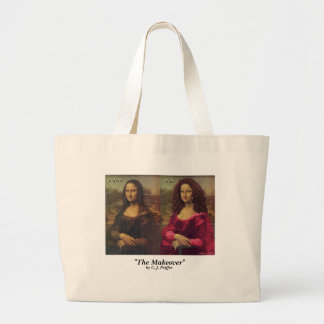 'The Makeover' Large Tote Bag