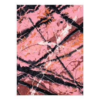 THE MAKER'S MARK ~ (abstract splash art) ~ Custom Invitation