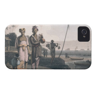 The Malays of Java, engraved by the artists, pub. iPhone 4 Cover