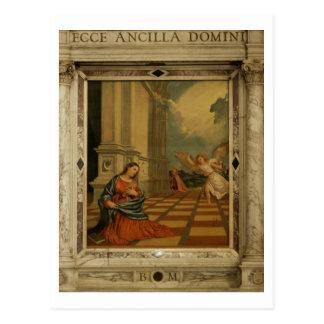 The Malchiostro Annunciation, c.1520 (oil on panel Postcard