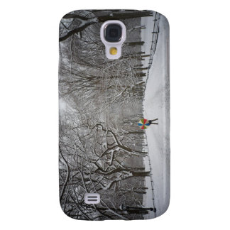 The Mall in Winter, Central Park, New York City Galaxy S4 Case