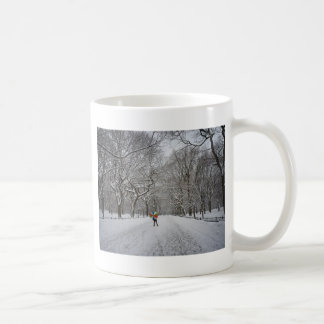 The Mall in Winter, Central Park, New York City Coffee Mug