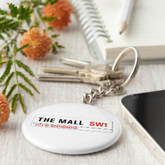The Mall, London Street Sign Key Chains