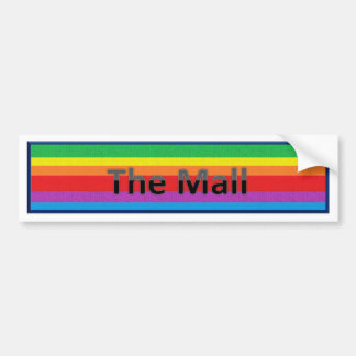 The Mall Style 3 Bumper Sticker