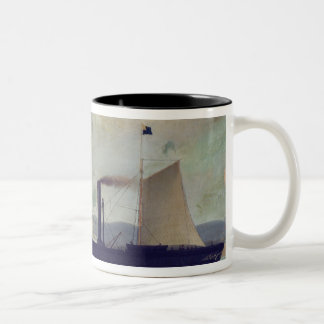 The 'Mallorcan', ship on which George Sand and Cho Two-Tone Coffee Mug