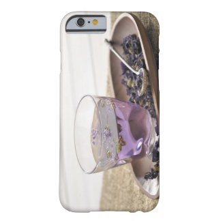 The mallow herb tea which a glass cup contains, barely there iPhone 6 case