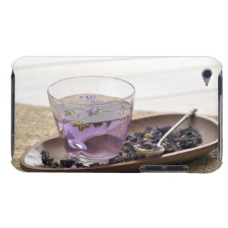 The mallow herb tea which a glass cup contains, Case-Mate iPod touch case