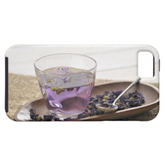 The mallow herb tea which a glass cup contains, iPhone 5 case