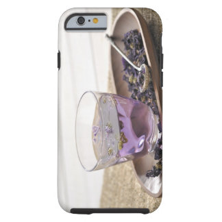 The mallow herb tea which a glass cup contains, tough iPhone 6 case