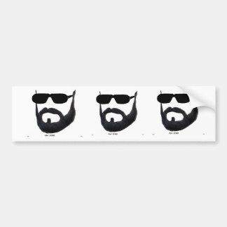 The Man Beard Bumber Sticker by :da'vy