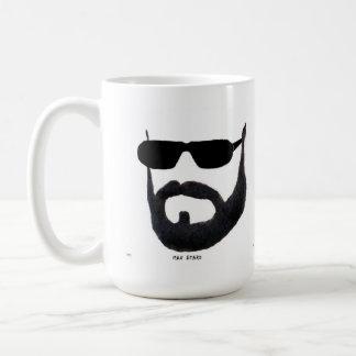 The Man Beard cup by da vy Coffee Mugs