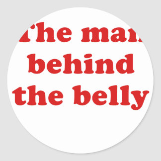The Man Behind the Belly Round Stickers