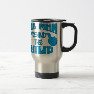 The Man Behind The Bump Travel Mug