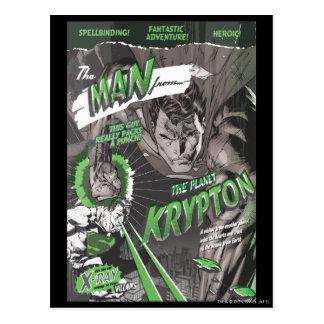 The Man from Krypton Postcard