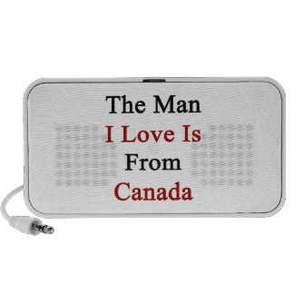 The Man I Love Is From Canada PC Speakers