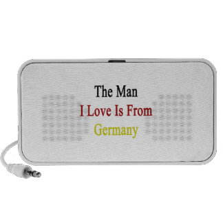 The Man I Love Is From Germany Laptop Speakers