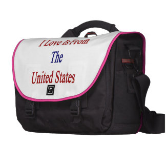 The Man I Love Is From The United States Laptop Computer Bag