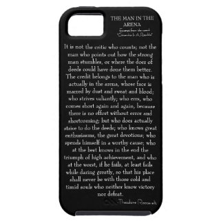'The Man In The Arena' iPhone-5 Case