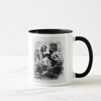 The Man in the Iron Mask in his Prison Mug