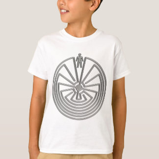 The Man in the Maze - silver T-Shirt