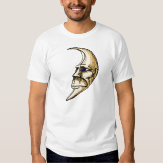 The Man In The Moon Is Crying color drawing T Shirt