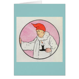 The Man in the Moon looked out of the moon Greeting Card