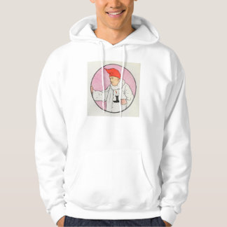 The Man in the Moon looked out of the moon Hoodie