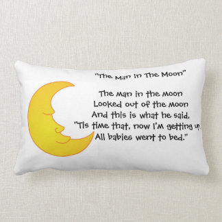 The Man In The Moon - Throw Pillow Lumba Throw Cushion