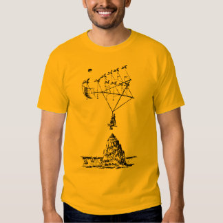 The man in the Moone - Francis Godwin Tees