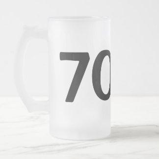 The man myth legend beer mug for 70th Birthday men