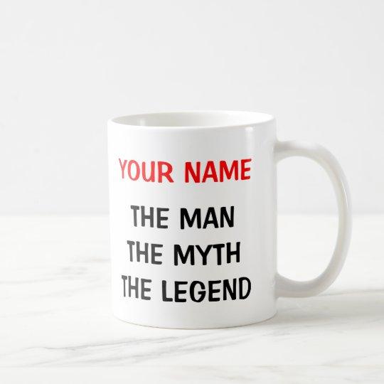 The man myth legend mug for 60th Birthday men