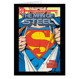 The Man of Steel 1 Collector s Edition Card