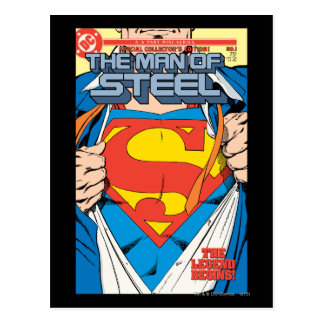 The Man of Steel 1 Collector s Edition Postcard