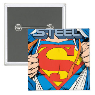 The Man of Steel #1 Collector's Edition 15 Cm Square Badge
