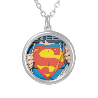 The Man of Steel #1 Collector's Edition Silver Plated Necklace