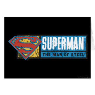 The Man of Steel Card