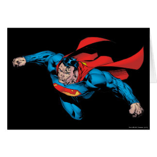 The Man of Steel Comic Style Greeting Card