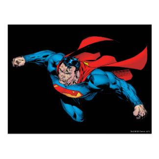 The Man of Steel Comic Style Postcard