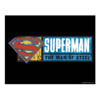 The Man of Steel Postcard